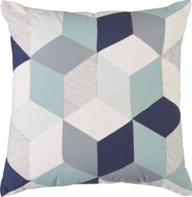 LEO Housse de coussin décoratif 450758440840 Couleur Bleu Dimensions L: 45.0 cm x H: 45.0 cm Photo no. 1