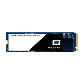 WD Black PCIe SSD intern 256GB M.2 2280