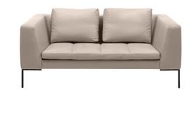 BADER 2er-Sofa 405686120381 Grösse B: 174.0 cm x T: 105.0 cm x H: 80.0 cm Farbe Hellgrau Bild Nr. 1