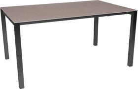 KANO, 200/260 cm, struttura antracite, piano Ceramica Tavolo allungabile 753194120082 Taglio L: 200.0 cm x L: 95.0 cm x A: 74.0 cm Colore Basalt N. figura 1