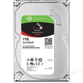 "IronWolf 1To disque dur interne SATA 3.5"" HDD NAS Seagate 785300126747 Photo no. 1"