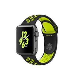 Watch Series 2 Nike+ 38mm black/volt Apple 79817840000017 Photo n°. 1