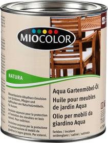 Aqua Gartenmöbel-Öl Farblos 750 ml Holzöle + Holzwachse Miocolor 661418800000 Bild Nr. 1