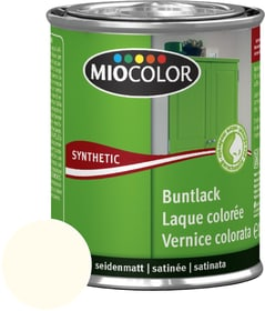 Synthetic Vernice colorata opaca Avorio chiaro 375 ml Miocolor 661437100000 Colore Avorio chiaro Contenuto 375.0 ml N. figura 1