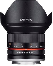 12mm F2.0 NCS CS Sony E noir Objectif Samyang 785300157217 Photo no. 1