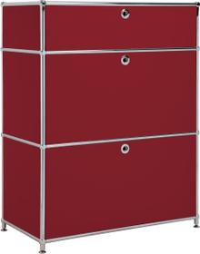 FLEXCUBE Buffet 401814710230 Dimensioni L: 77.5 cm x P: 40.0 cm x A: 100.0 cm Colore Rosso N. figura 1
