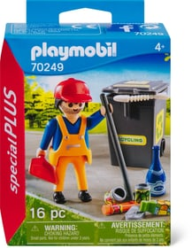 70249 Agent d'entretien PLAYMOBIL® 748029200000 Photo no. 1