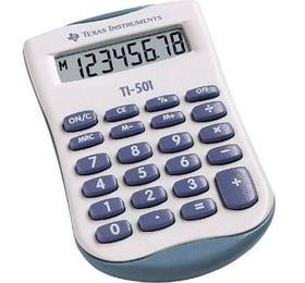 Grundrechner TI-501 8-stellig Taschenrechner Texas Instruments 785300151126 Bild Nr. 1