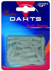 Soft-Tips 50 Stk. weiss Dartboard Zubehör Carromco 472010600000 Bild-Nr. 1