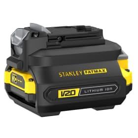 V20 / 18 Li adattatore caricabatterie per 1.5 Ah + 2.0 Ah Caricabatteria Stanley Fatmax 616242500000 N. figura 1