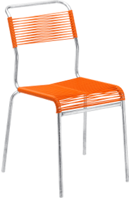 BAHAMAS Sedia Schaffner 753165900000 Taglio L: 48.0 cm x P: 56.0 cm x A: 85.0 cm Colore Arancione N. figura 1
