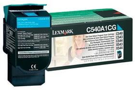 C540A1CG Return cartuccia Toner ciano Cartuccia toner Lexmark 785300126675 N. figura 1