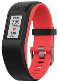Vivosport Fitness-Tracker - nero/rosso Garmin 785300133054 N. figura 1