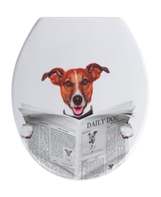 Sedile WC Daily Dog WENKO 674043100000 N. figura 1