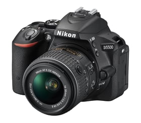 Nikon D5500 Kit 18-55mm noir Nikon 95110031578215 Photo n°. 1