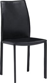 BUFALO II Chaise 403720900020 Dimensions L: 44.0 cm x P: 54.0 cm x H: 92.0 cm Couleur Noir Photo no. 1