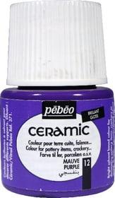 PÉBÉO Ceramic Keramikmalfarbe 12 Purple 45ml Pebeo 663510000800 Farbe Violett Bild Nr. 1
