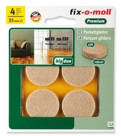 Parkettgleiter 5 mm / Ø 35 mm 4 x Fix-O-Moll 607071200000 Bild Nr. 1