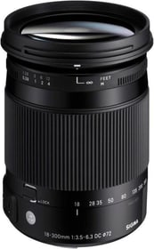 18-300mm f/3.5-6.3 DC MA OS HSM objectif pour Canon Objectif Sigma 785300126192 Photo no. 1