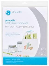 Film thermocollant A4 tissus blancs Foglio Silhouette 785300141868 N. figura 1