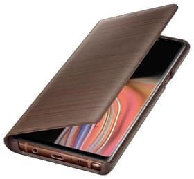 Book-Cover LED Galaxy Note 9 braun 9000035083 Bild Nr. 1