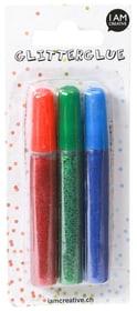 Glitterglue I AM CREATIVE 665542000010 Contenu rot / blau Photo no. 1