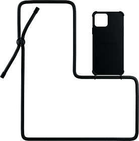 Necklace Case All Black iPhone 12 / 12 Pro Coque Urbany's 785300159382 Photo no. 1