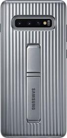 Protective Standing Cover Silver Coque Samsung 785300142482 Photo no. 1