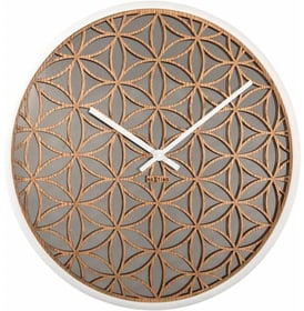 Orologio da parete Bella specchio bianco di Horologe murale NexTime 785300138488 N. figura 1