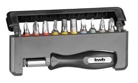 TITAN Handy-Box TIN PH-PZ-FL-HEX 12-tlg. Bits kwb 616221500000 Bild Nr. 1