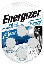 Ultimate Lithium CR2032 4 p. pile bouton Energizer 704769300000 Photo no. 1