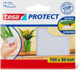 Feutres anti-rayures rectangulaires, blanc, 100mmx80mm Tesa 663079800000 Photo no. 1