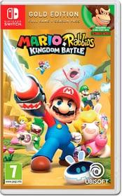 Switch - Mario & Rabbids Kingdom Battle - Gold Edition Box 785300136533 Photo no. 1