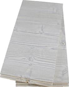 Lambris de bois brossé gris 2 pcs.