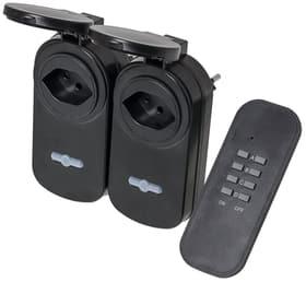 POWER Remote Outdoor Funkset, 2x Zwischenstecker und 1x Sender Stecker Steffen 612246800000 Bild Nr. 1