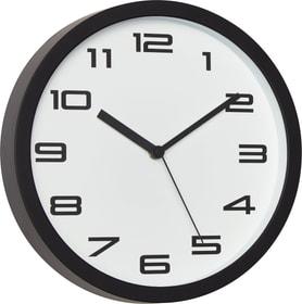 CLASSIC Horloge murale 440610502510 Couleur Blanc / Noir Dimensions L: 25.0 cm x P: 4.0 cm x H: 25.0 cm Photo no. 1