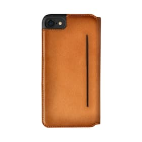 Booklet case Parigi for iPhone 7/8 cognac
