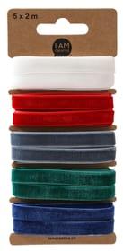 Samtbänder, Mix Ii,10 mm, 5 x 2 m 666537000000 Bild Nr. 1