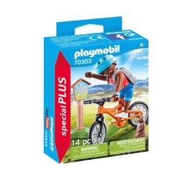 PLAYMOBIL 70303 Cycliste avec marmot 748039500000 Photo no. 1