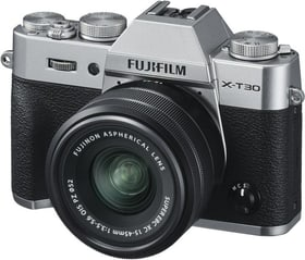 X-T30 Kit (15 - 45 mm, 26.10MP, WLAN) Systemkamera Kit FUJIFILM 785300145117 Bild Nr. 1