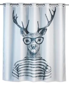 Tenda doccia Mr. Deer Flex antimuffa WENKO 674008100000 Taglio 180 X 200 CM N. figura 1
