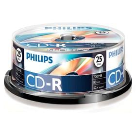 CD-R 700MB 25-Pack CD masterizzabili Philips 787242000000 N. figura 1