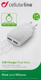 USB Charger Dual Ultra iPad + iPhone