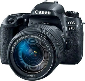 EOS 77D 18-135 IS USM, 24.2 MP ink Canon 785300144978 Bild Nr. 1