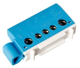 Neutralklemme 3x6mm2+2x16mm2 blau Anschlussklemmen Steffen 612172000000 Bild Nr. 1