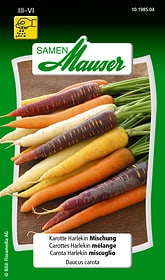 Karotte Harlekin Mischung Gemüsesamen Samen Mauser 650110902000 Inhalt 2 g (ca. 100 - 200 Pflanzen oder 2 - 3 m²) Bild Nr. 1