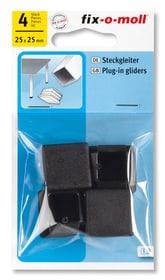 Steckgleiter 25 x 25 mm 4 x Fix-O-Moll 607085900000 Bild Nr. 1