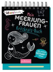 Meerjungfrau Kritzkratz-Buch 782491200000 Photo no. 1