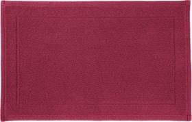 NAVE Tapis en tissu éponge 450854721533 Couleur Bordeaux Dimensions L: 50.0 cm x H: 80.0 cm Photo no. 1