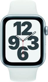 Watch SE LTE 44mm Silver Aluminium White Sport Band Smartwatch Apple 785300155519 Bild Nr. 1